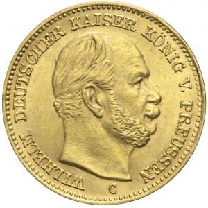 Niemcy, Prusy, 5 marek 1877 C, Wilhelm I