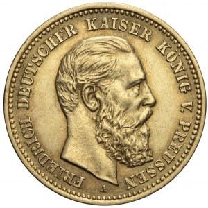 Niemcy, Prusy, 10 marek 1888 A, Wilhelm I