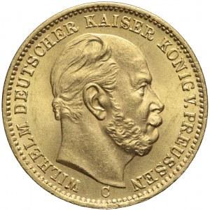 Niemcy, Prusy, 20 marek 1873 C, Wilhelm I