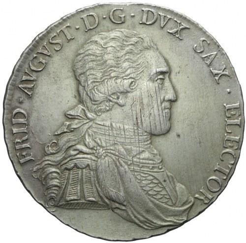 Niemcy, Saksonia, Talar 1806, Drezno, Fryderyk August III