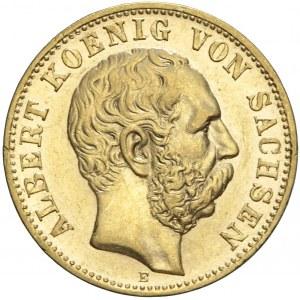 Niemcy, Saksonia, 10 marek 1898 E, Albert
