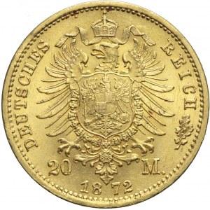 Niemcy, Saksonia, 20 marek 1872 E, Jan V