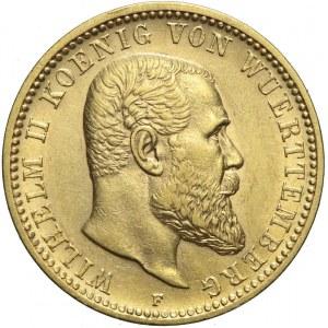 Niemcy, Wirtembergia, 10 marek 1903 F, Wilhelm II