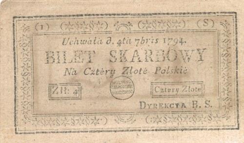 4 złote 1794 (1)(S)