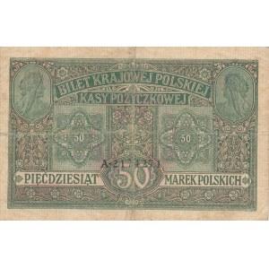 50 marek 1916 jenerał, ser. A