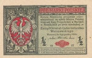 1/2 marki polskiej 1917 Generał, ser. B