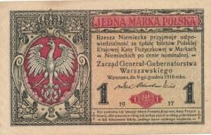 1 marka 1917 Generał, ser. B