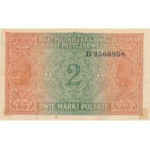 2 marki 1917 Generał, ser. B