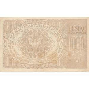 1000 marek 17.05.1919r. ser. ZR 107633❉