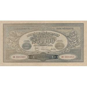 Inflacja 250.000 marek 1923r. ser. CM
