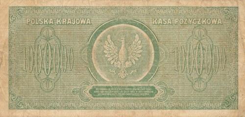 Inflacja 1000.000 marek 1923r. ser. C