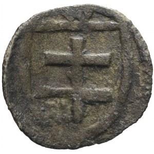 RRR-, Władysław Jagiełło 1386-1434, Denar, Kraków, R8