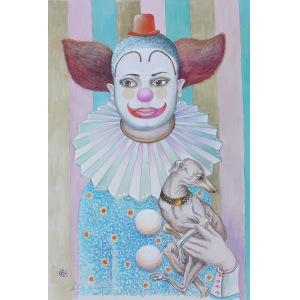 Subota Lena (1962), Klaun i charcik, 2016
