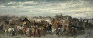 Brandt Józef, JARMARK NA KONIE,1869
