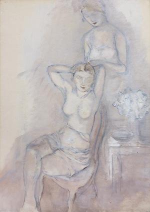 Gottlieb Leopold, KOBIETY W BIELI, 1930 – 1934