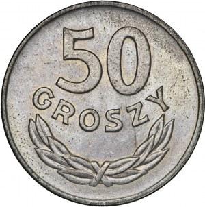 zestaw, 50 gr 1949, MN, 1 zł 1972, Al.