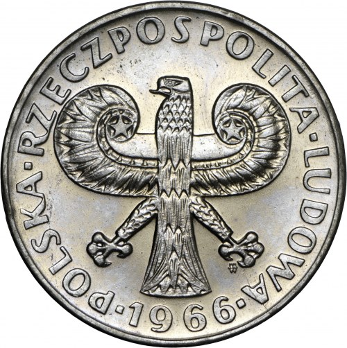 10 zł 1966, Kolumna Zygmunta, MN, mała kolumna