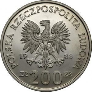 200 zł 1988, XIV Mistrzostwa Świata w piłce nożnej 1988, MN