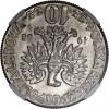 Polska, PRL, 10 zł 1968 Mikołaj Kopernik, odwortka, slab NGC MS65