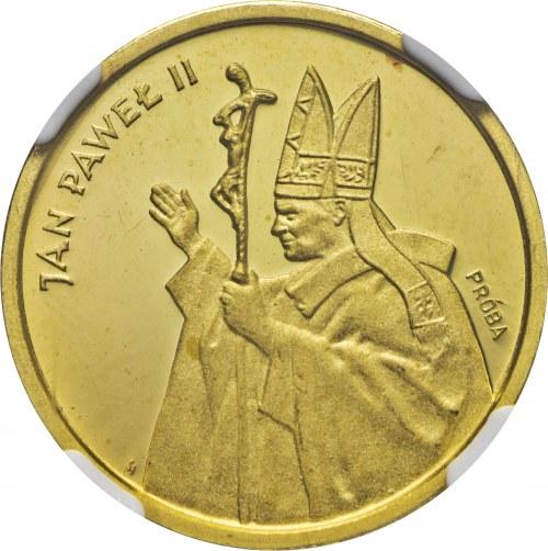 2000 zł 1987, Jan Paweł II, próba