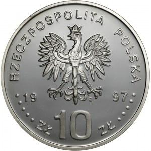 10 zł 1997, 1000-lecie śmierci św. Wojciecha, Ag 925