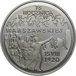 20 zł 1995, 75 rocznica Bitwy Warszawskiej, Ag 925