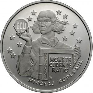 20 zł 1995, ECU - Mikołaj Kopernik, Ag 925