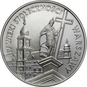 20 zł 1996, IV Wieki Stołeczności Warszawy, Ag 925