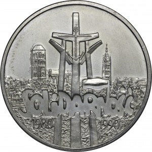 100 000 zł 1990, Solidarność 1980 - 1990, Ag 999
