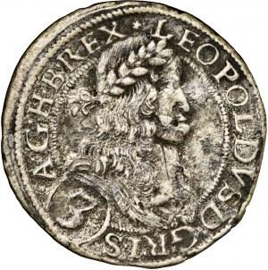 Austria, Leopold I, 3 krajcary Wiedeń 1670