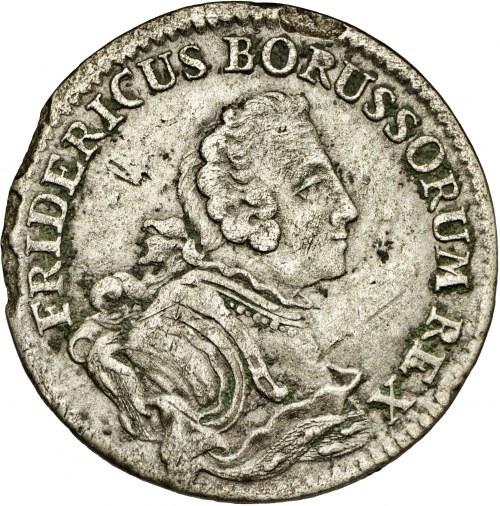 Niemcy, Fryderyk Wilhelm, 1/12 talara 1751