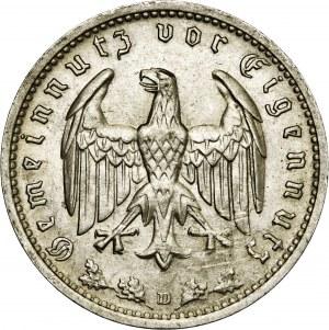 Niemcy, 1 marka 1934, D