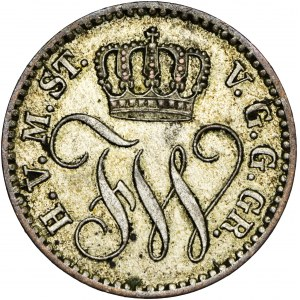 Niemcy, Prusy, 1/48 talara 1862, A