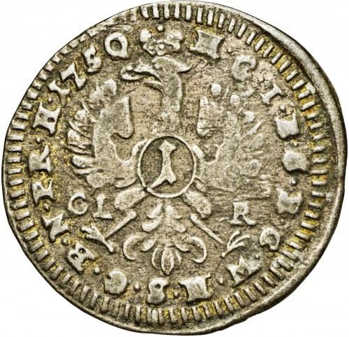 Niemcy, Brandenburg-Bayreuth, 1 krajcar 1750 CLR