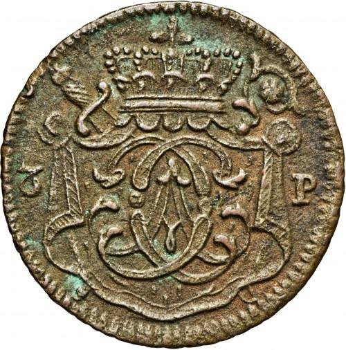 Niemcy, 3 fenigi 1743, Klemens August von Bayern, biskupstwo