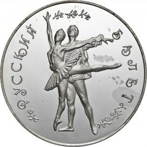 Rosja, 25 rubli 1994, balet, srebro Ag 999
