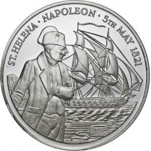 Święta Helena, 25 funtów 1986, srebro Ag 999