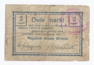 bon Wronki, 2 marki, 03.11.1920