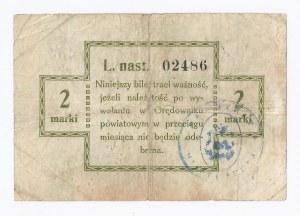 bon Puck, 2 marki, 1920
