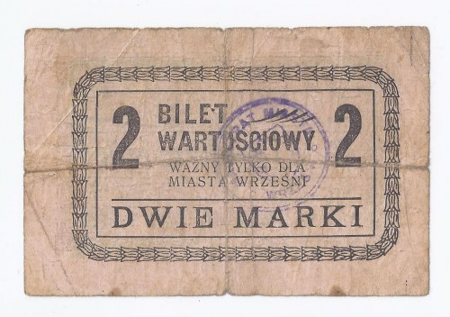 bon Września, 2 marki, b.d.