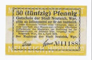 bon Nowy Staw, 50 fenigów, 1919