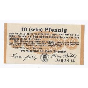 bon Nowy Dwór Gdański, 10 fenigów, 1917