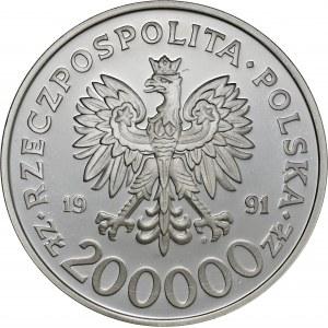 200 000 zł 1991, Igrzyska XXVV Olimpiady Barcelona 1992 - Ciężarowiec, Ag925