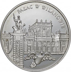 20 zł 2000, Pałac w Wilanowie, Ag925