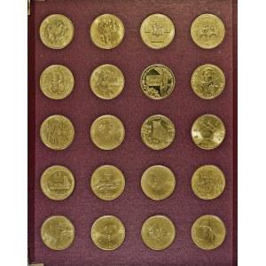 zestaw, 40 monet, 2 zł