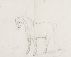 Józef BRANDT (1841-1915), Koń