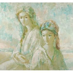 Nathan WASSERBERGER (ur. 1928), Dwie kobiety
