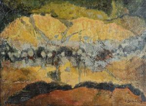 Zbigniew JASKIERSKI (1928-1969), Bez tytułu, 1961