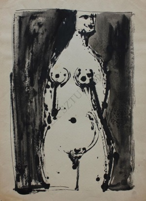 Barbara Jonscher (1926-1986), Akt