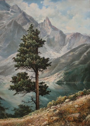 Zygmunt Kaczówka (1915-1996), Limba nad Morskim Okiem